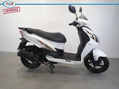 2016 Sym Jet 125 White **99P Start No Reserve**