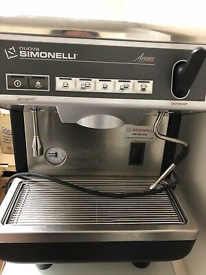 Nuova Simonelli Appia 1 Group 21 Cups Espresso Machine - Black