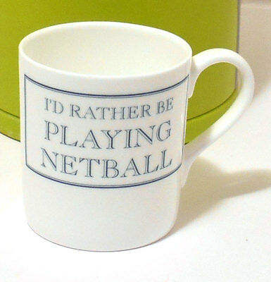 I'd rather be PLAYING NETBALL Mug