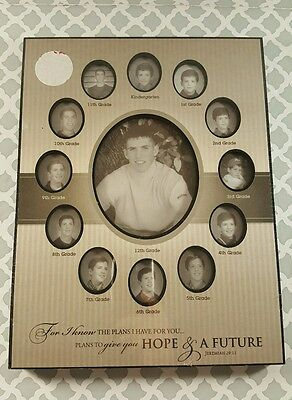 Christian School Years Photo Frame Through The Years Metal Frame Jer