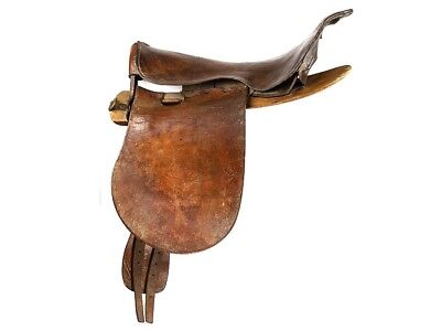 WWI Canadian Made Military Cavalry Saddle & Bridle