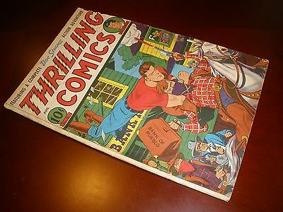 Standard Comics Thrilling Comics # 55 Nice Copy Lone Eagle