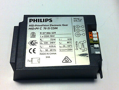 Philips Hid-Pv C 70W / S Small for CDM 70W Halogenmetalldampf