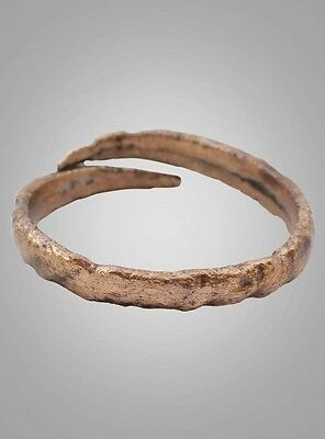 Ancient Wedding band Viking Ring C.866-1067AD. Size 12  (21.7mm)(BRR766)