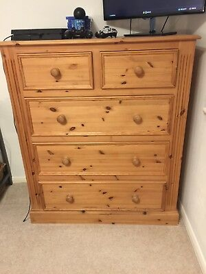 Lovely Waxed Antique Pine Chest of Drawers