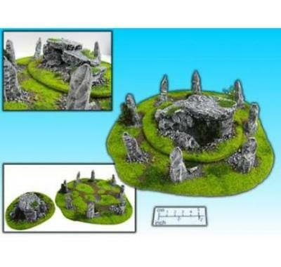 ESLO Terrain Celtic Stone Circle & Tomb Box MINT