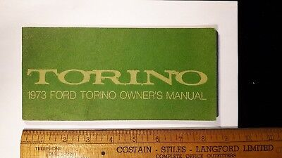 1973 FORD - Torino - Original NOS Owner's Manual - Excellent Condition - (US)