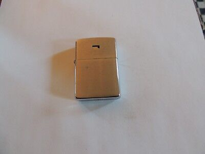 Brushed Chrome Zippo Cigarette Lighter 5 Barrel Missing Logo?