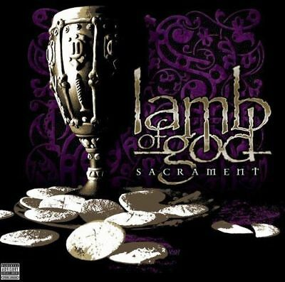 Lamb of God ** Sacrament ** Explicit Version - CD Audio - Free Shipping