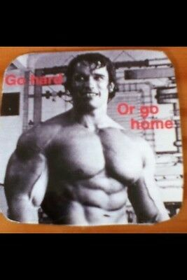 Bodybuilding Fab Fridge Magnet Coaster