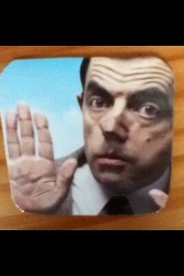 Mr Bean Fab Fridge Magnet Coaster