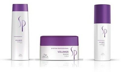 Wella SP Kit Volumize Shampoo 250 ml   Volumize Mask 200 ml   Volumize Leave-In