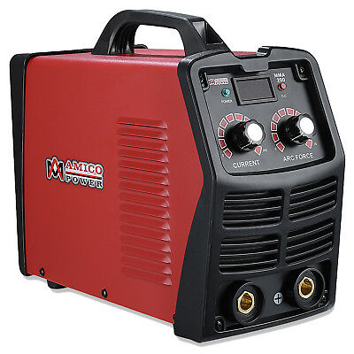 MMA-200, 200 Amp Stick Arc IGBT Digital Inverter DC Welder, 120V & 240V Welding