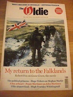 The Oldie Magazine May 2018 Issue 361 Reasonable Clean Condition