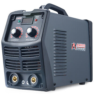 MMA-200, 200 Amp Stick Arc Digital Inverter DC Welder, 120V & 240V Welding New