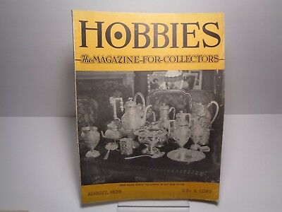 Hobbies The Magazine for Collectors August 1939
