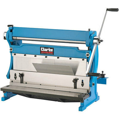 Clarke SBR610 610mm 3 in 1 Universal Sheet Metal Machine