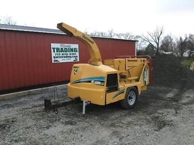 "2007 Vermeer BC1000XL Diesel 12"" Towable Wood Chipper Coming Soon!"