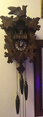 Black Forest Cuckoo Clock Musical With Spinning  Dancers