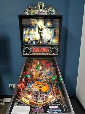 Addams Family Pinball Machine. Excellent cond. LEDs.