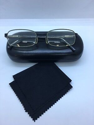 5635dd63ed Jhane Barnes Interchange8 53-18-140 BK JB02 Eyeglasses Women s W Plain Case