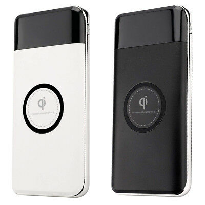 Power Bank Wireless Charger For Qi 12000 mAh For Smarphone
