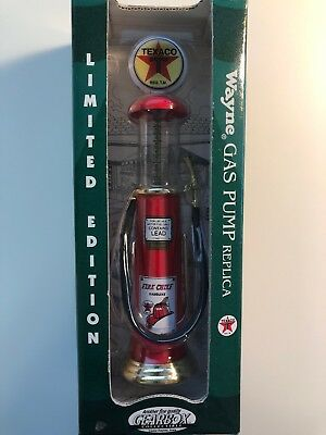 Texaco Wayne Gas Pump Limited Edition Gearbox Collectibles 1996