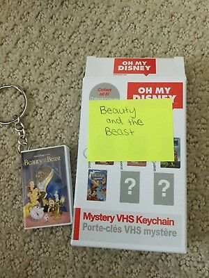 Oh My Disney Mystery VHS Keychain-Beauty and the Beast-Belle/Beast New