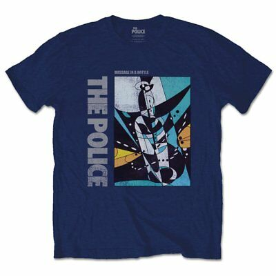 The Police Men's Tee: Message in a Bottle (Medium) - POLTS07MN02