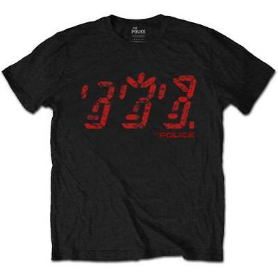 The Police Men's Tee: Vintage Ghost (X-Large) - POLTS05MB04
