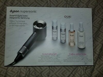Dyson Hair Care Supersonic Hair Dryer Ouai Limited Edition Black Set Brand New