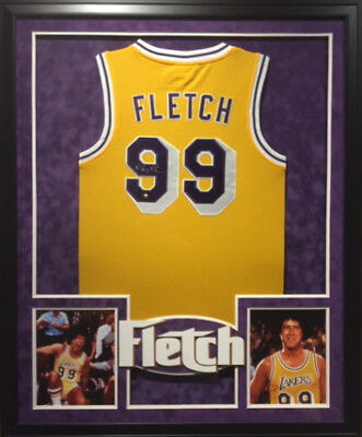 aebbe0309 CHEVY CHASE FLETCH Framed Jersey Steiner Autographed Signed Movie ...