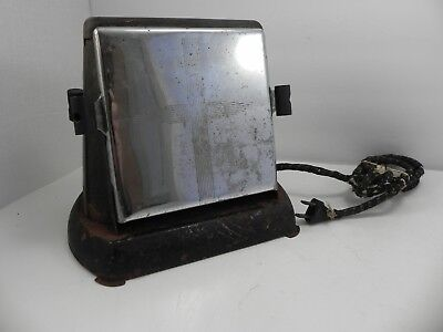 Antique Electric 2 Sided Sliced Toaster Works