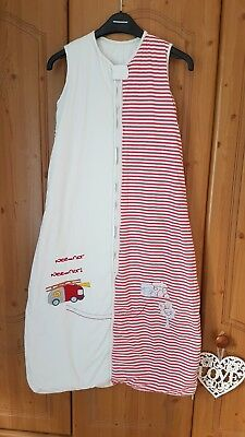 Slumbersac Grobag/Sleeping Bag 12-36 18-36 Months 2.5 tog fire engine red white