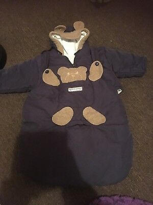 Baby Boys Coat All In One For Car seat Age 6 Months