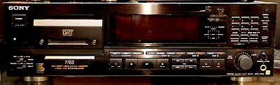 Sony Dat Dtc-77Es Digital Audio Tape Deck Hi-End Recorder Player Best Transport