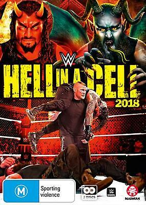 WWE - Hell In A Cell 2018 - DVD Region 4 Free Shipping!