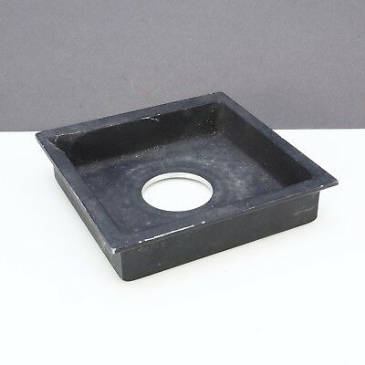 > 10x10cm View Camera Recessed Lens Board W/ 3cm Hole 260