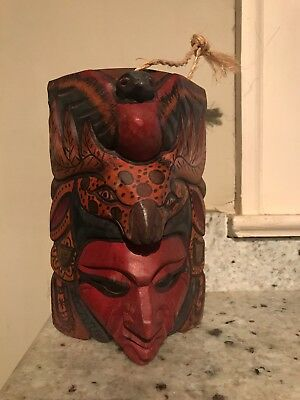 Indian Mexican Wood Art Mask