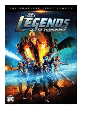Dc's Legends Of Tomorrow - Complete Season 1 - 4 Dvd Set - 2016 Release - New
