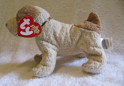 Rufus Terrier Dog - Ty Beanie Baby With Tag - Retired -2000 - Brand New - Mwmt