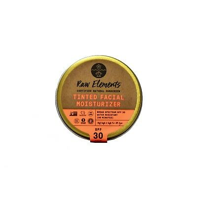 Raw Elements Tinted Face Moisturizer 30+ *Plastic Free*