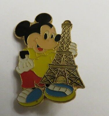 Disney Mickey with the Eiffel Tower Unauthorized Paris Pin