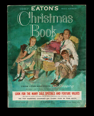 Eaton's 1957 Christmas Book Mail Order Catalogue