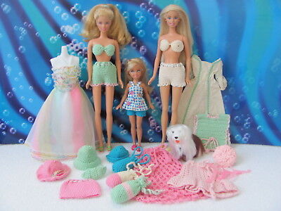 Mixed Barbie lot ~ hand-made & vintage Barbie clothing