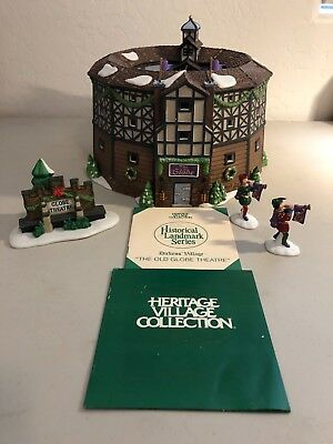 MINT!  Department 56 Dickens Village The Old Globe Theatre 58501  HISTORICAL