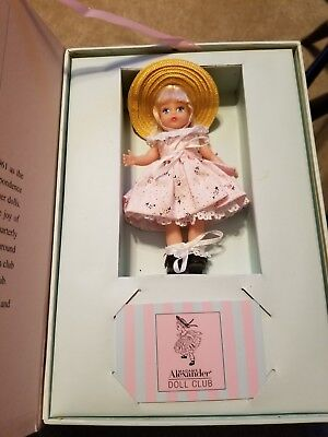 Little Miss MADC, Madame Alexander Club Doll, Wendy,5 inches, MIB