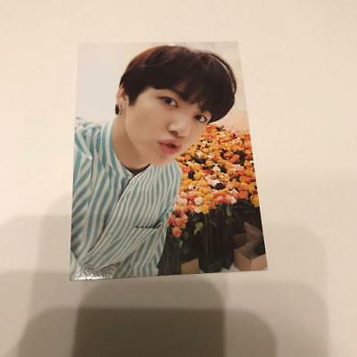 BTS love yourself dome tour JPN JUNGKOOK official photocard passport case photo