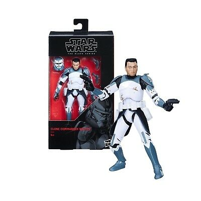"Star Wars The Black Series 6"" Clone Commander Wolffe Figure NEW in Box"