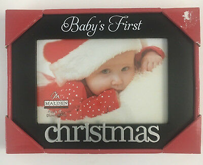 """Babys First Christmas Picture Frame 4"""" x 6"""""""